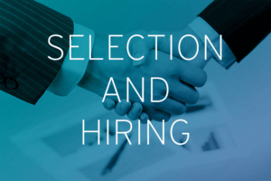 Selection and hiring