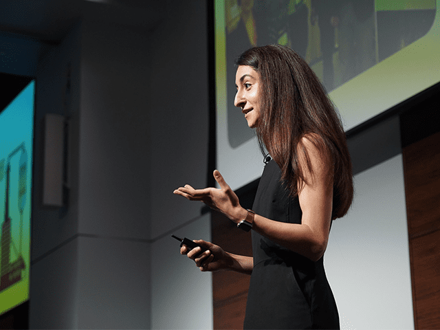 Alexandra Tavasoli wants to fill the gaps in our clean energy future